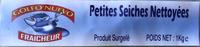 Petites sèches, crues, nettoyées Surgelées - Product - fr