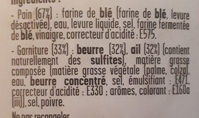 Préfou Ail - Ingredients - fr