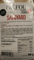 Préfou Savoyard - Product - fr