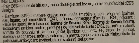 Préfou Savoyard - Ingrédients - fr