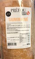 Prefou saumon fume - Product - fr