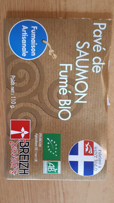 Pave de saumon bio fume - Product