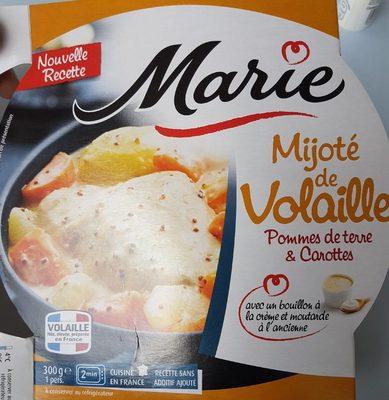 Mijoté de Volaille, Pommes de Terre & Carottes - 1