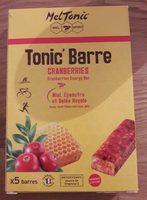Tonic'Barre - Product
