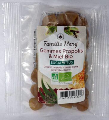 Gommes propolis et miel-eucalyptus - Produit - fr