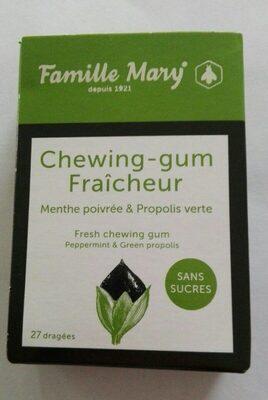 Chewing-gum fraîcheur - Produit - fr