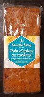 Pain d'épices au caramel - Produit