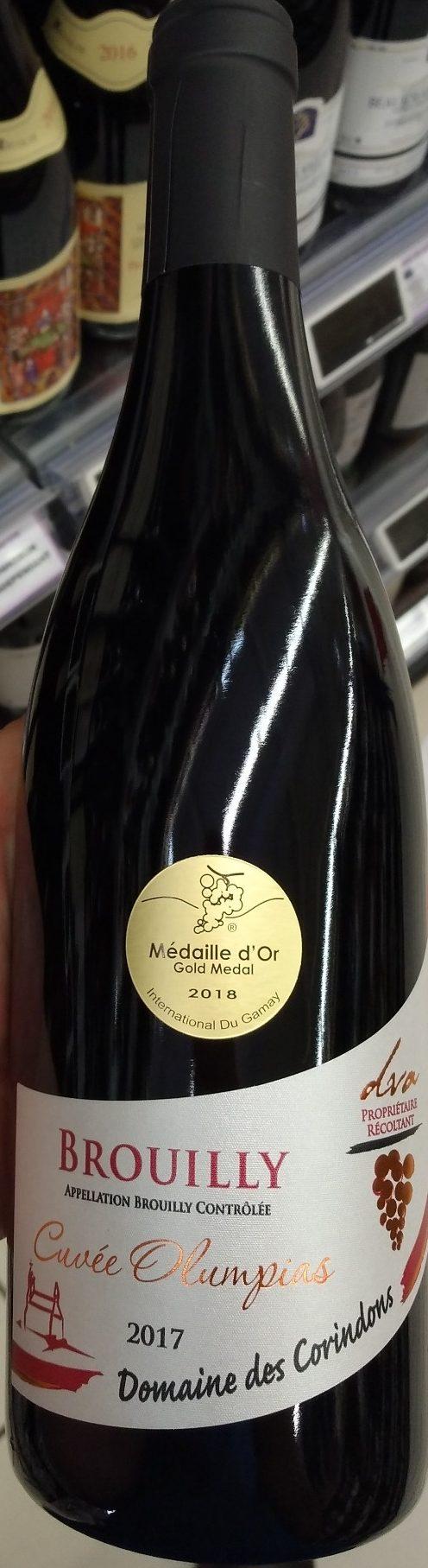Brouilly Cuvée Olympias - Produit - fr