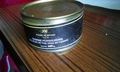 Terrine perigourdine - Produit