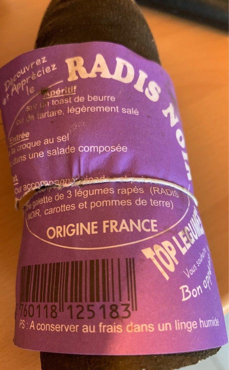 radis noir - Produit - fr
