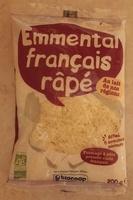 Emmental français râpé Bio (29 % MG) - Produit