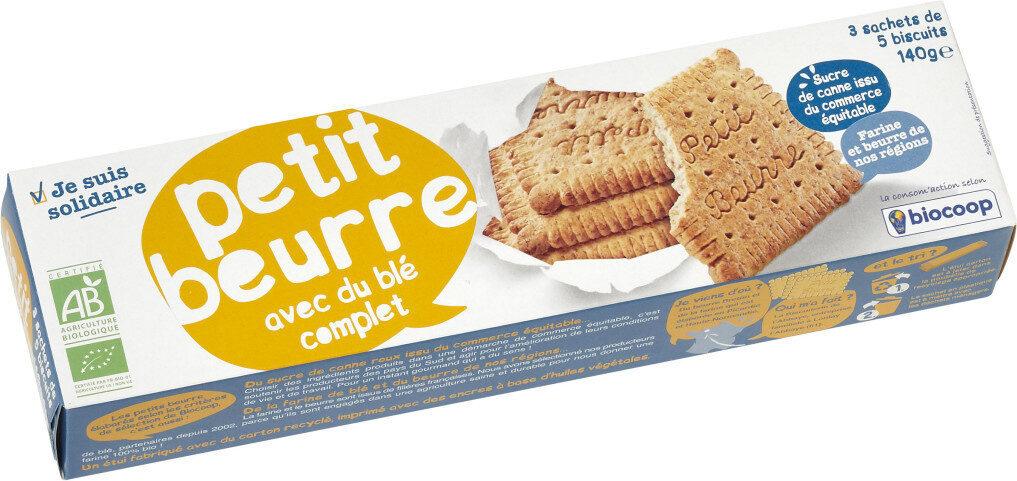 Biscuits petits beurre au blé complet - Product - fr