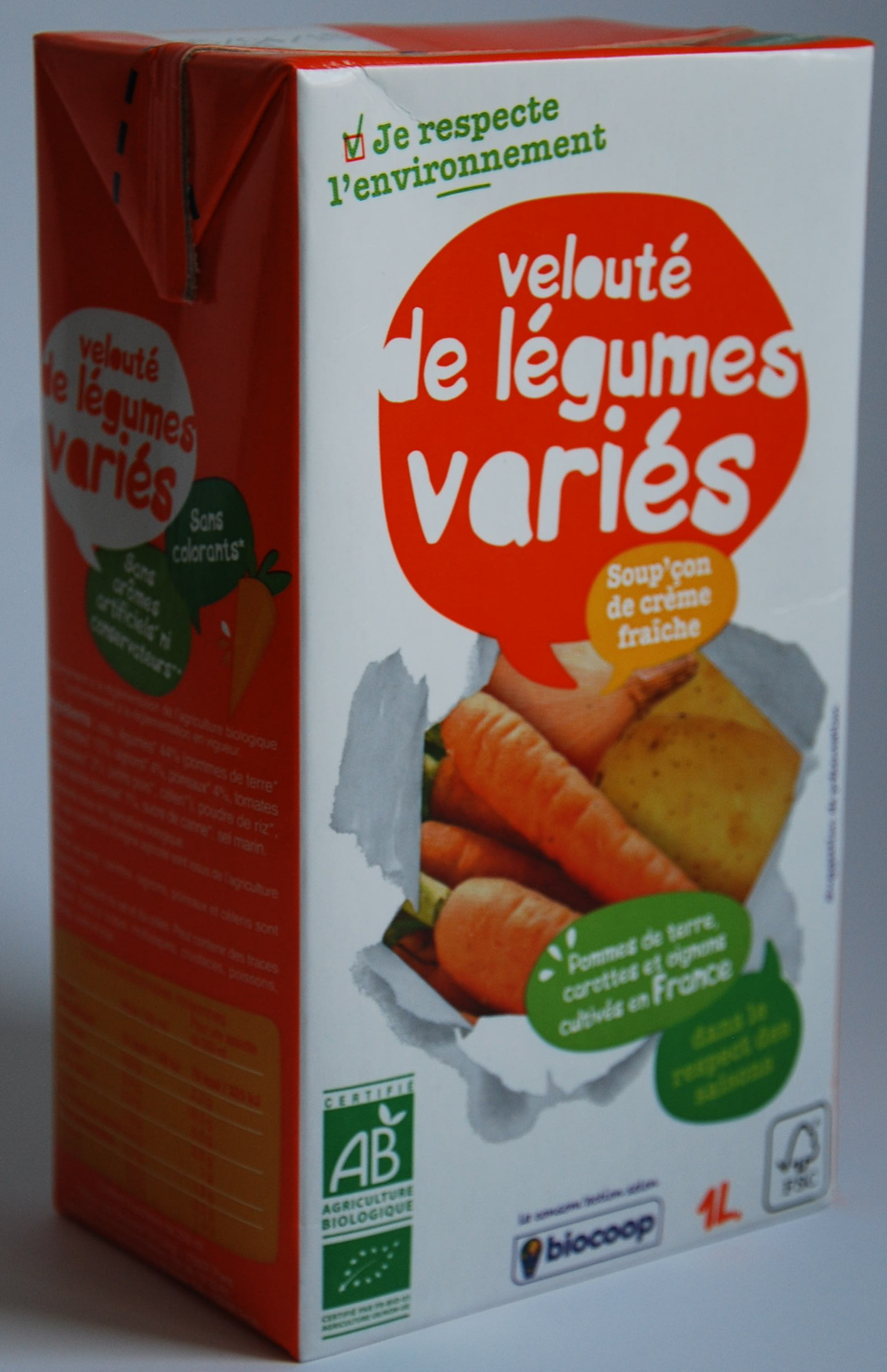 Velouté de légumes variés - Product