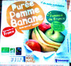 Purée Pommes Bananes - Produit