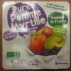 Purée Pomme Myrtille sans sucres ajoutés - Produit