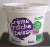 Crème fraîche épaisse 30% - Produit