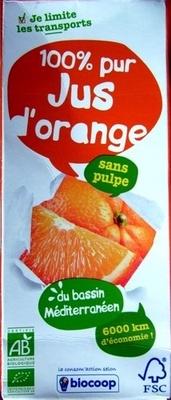 100% pur jus d'orange - Produit - fr