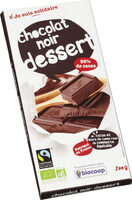 Chocolat noir dessert 56% cacao - Product - fr