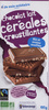 Chocolat lait céréales croustillantes bio - Product