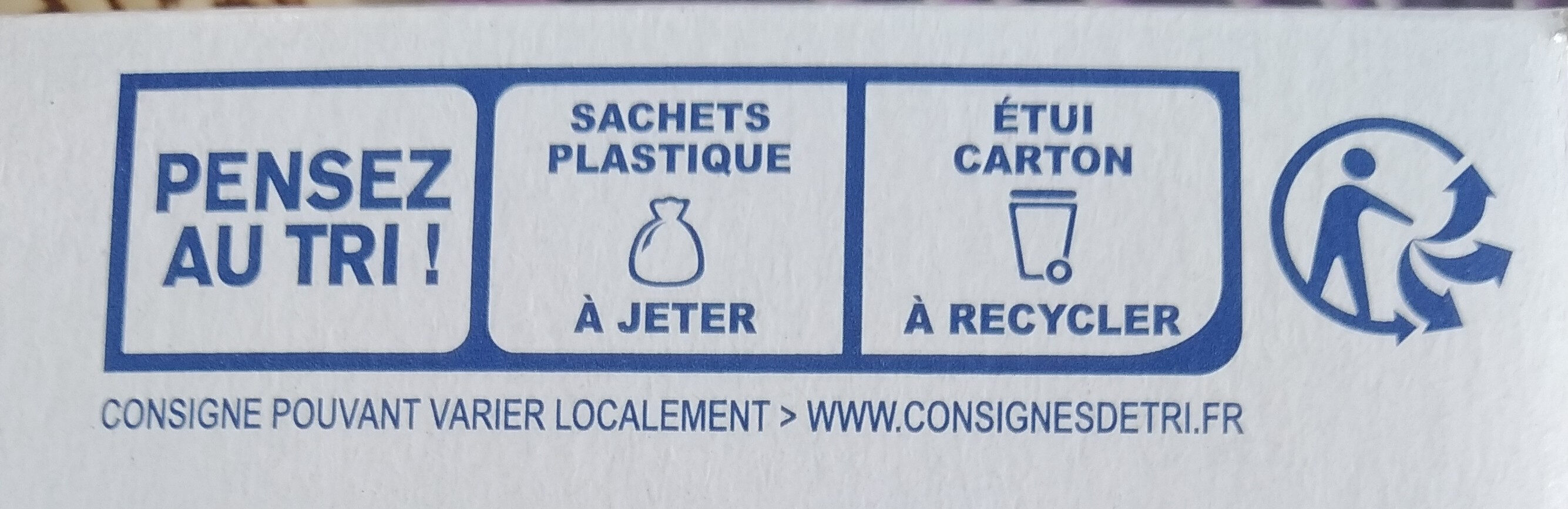 Biscuits petit épeautre sésame - Recycling instructions and/or packaging information - fr
