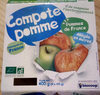 Compote De Pomme Allegee En Sucre - Produit