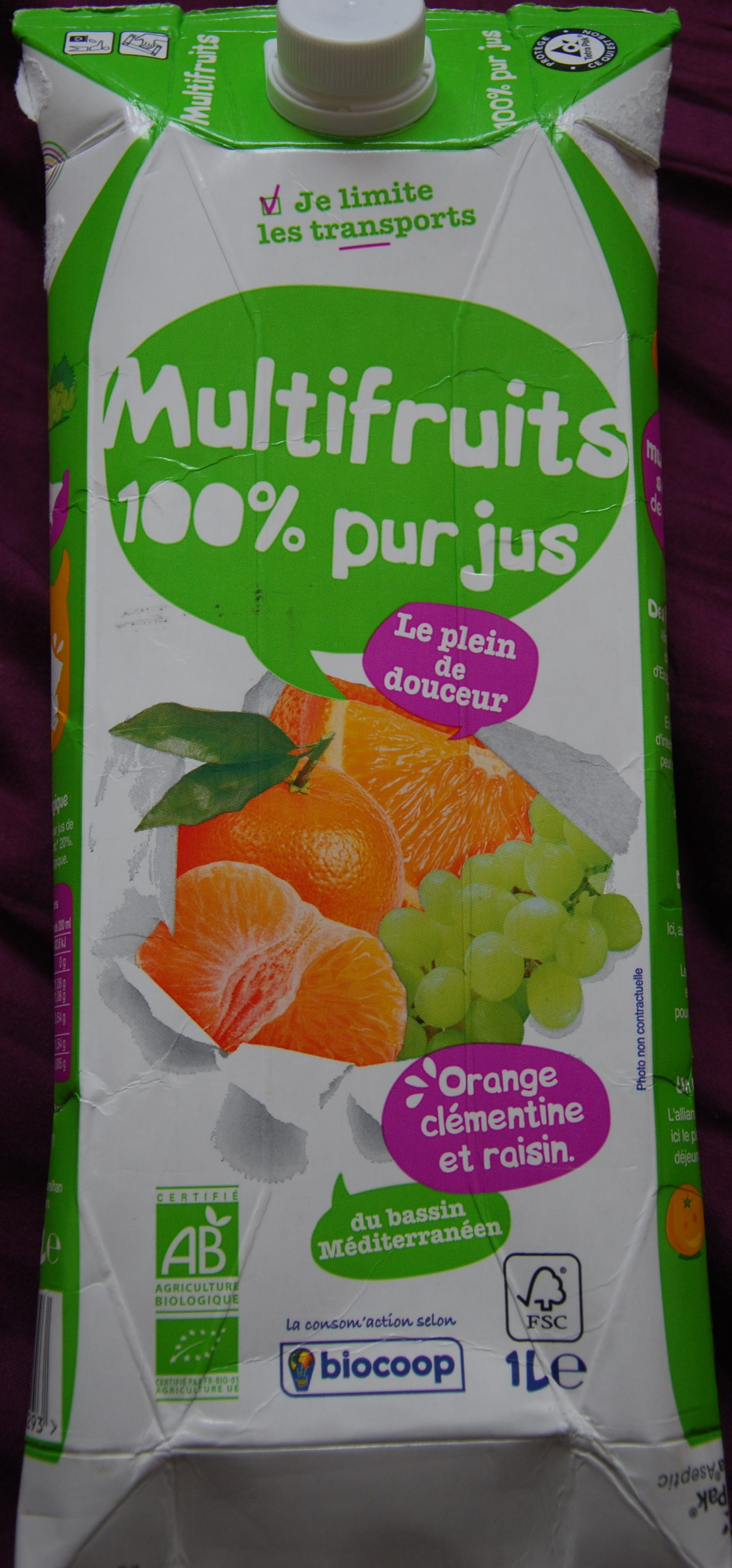 Multifruit 100% pur jus - Product