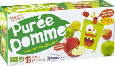 Purée pomme en gourdes - Prodotto - fr