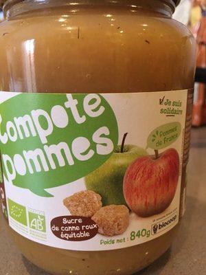 Compote Pommes - Produit - fr