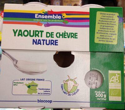 Yaourt de chèvre nature - Produit - fr