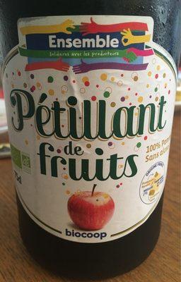 Pétillant de fruits - 100% pomme - Produit - fr