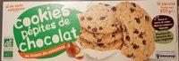 Cookies Pépites De Chocolat Et Eclats De Noisettes - Product