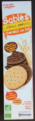 Sablés 6 Céréales Complète Chocolat Au Lait - Produit