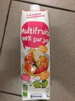 Multifruits 100% pur jus - Product
