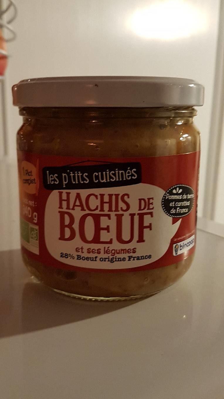 Hachis de Boeuf et ses légumes - Product