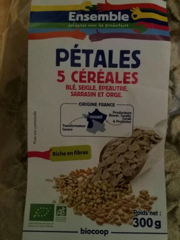 Pétales 5 céréales - Produit