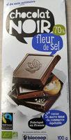 Chocolat noir 70% fleur de sel - Product