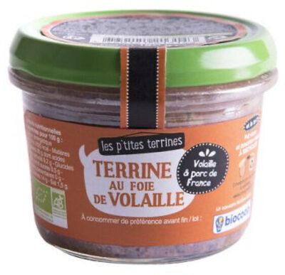 Terrine au foie de volaille - Produit - fr