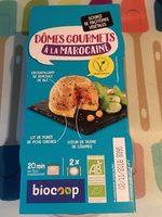 Dômes gourmets à la Marocaine - Produit