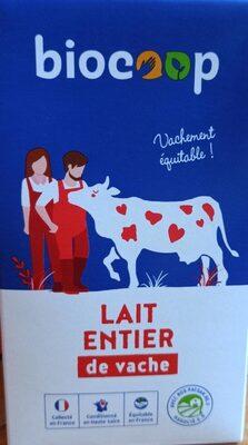LAIT ENTIER de vache - Product - fr