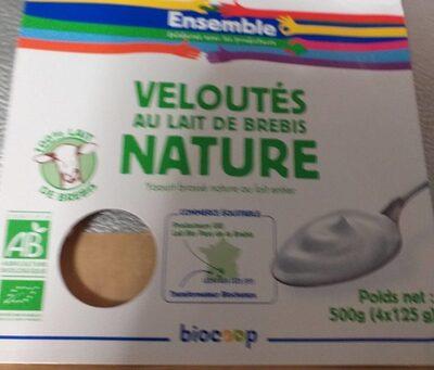 Velouté au lait de brebis nature - Produit