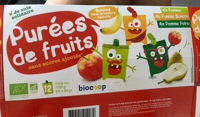 Purées de fruits - Produit - fr