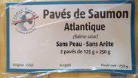 Pavés de Saumon Atlantique - Product