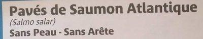 Pavés de Saumon Atlantique - Ingredients