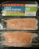 2 pavés de saumon Atlantique - Product