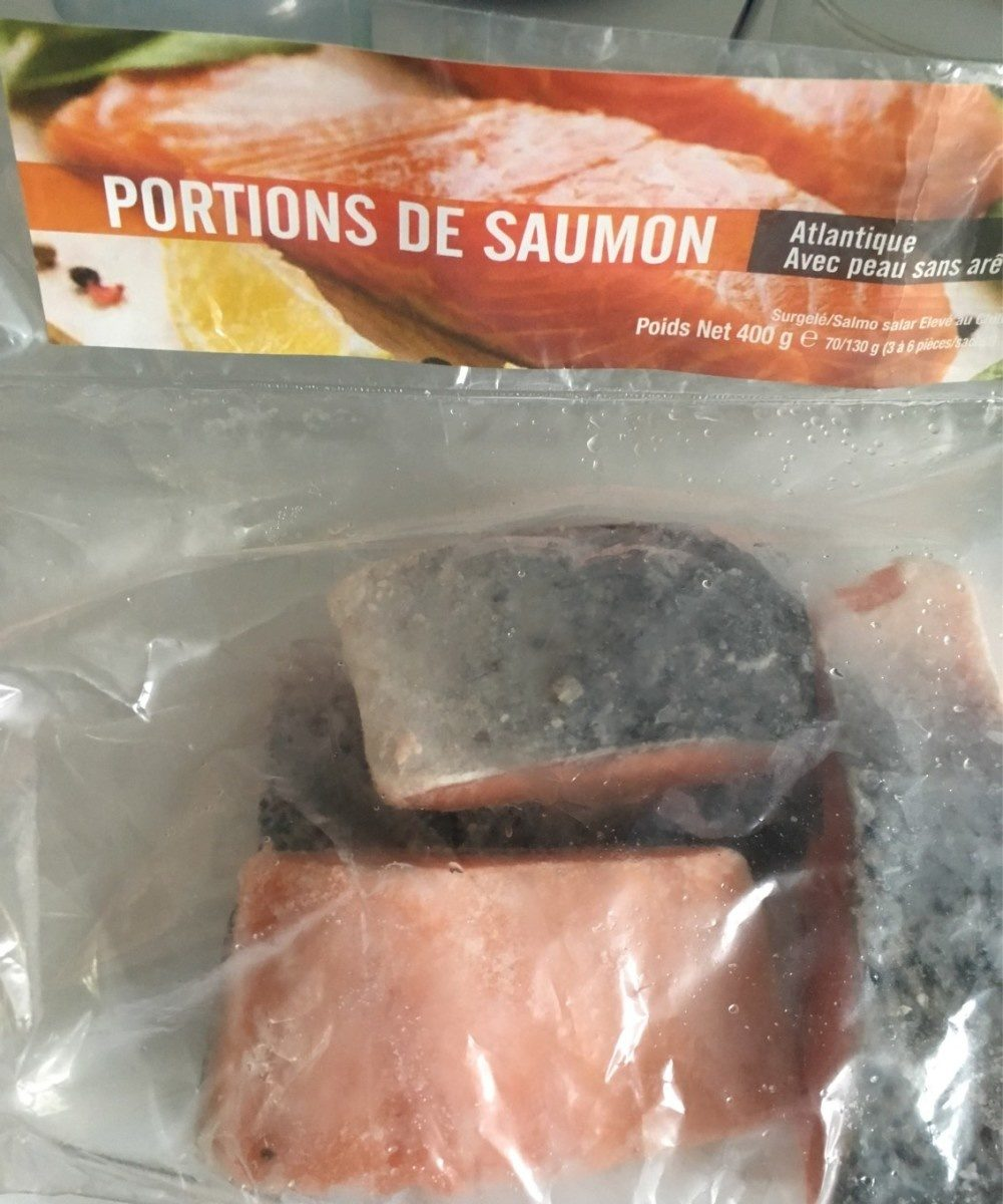Portions de saumon atlantique - Produit