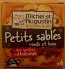 Petits sablés ronds et bons aux gouttes de chocolat - Product