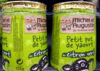 Petit pot de yaourt au citron vert - Product - fr