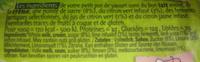 Petit pot de yaourt au citron vert - Ingredients - fr