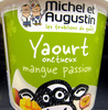Yaourt Onctueux Mangue Passion - Product