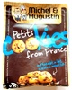 Petits Cookies from France au Chocolat au Lait et Éclats de Noisettes - Product